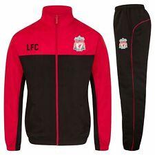 Liverpool FC Official Football Gift Boys Jacket & Pants Tracksuit Set