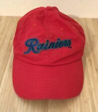 Tacoma Rainiers Baseball Hat Cap Red Adjustable Promotional