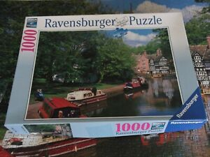 Ravensburger 1000 piece Jigsaw Puzzle 157662, Packet House, Worsley, Manchester