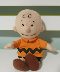 CHARLIE BROWN SNOOPY PEANUTS SOFT TOY PLUSH TOY APPLAUSE 19CM!