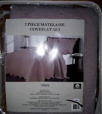 Lyon Matelasse Twin Coverlet Set