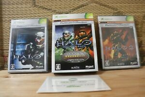 HALO HISTORY PACK Complete Set! Xbox XB Japan Microsoft Really Mint!