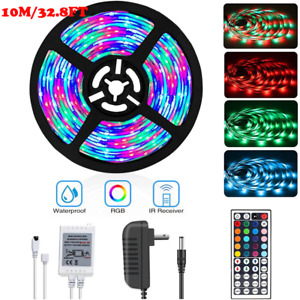 Tira De Luces 600 LED 32ft RGB Color Tiras Led Para Decoracion Habitacion Cuarto