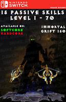 Diablo 3 - Nintendo Switch - Fully Primal Modded Set - Natalya - Demon Hunter