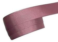 "5 yards Mauve 7/8"" grosgrain ribbon by the yard DIY hair bows"