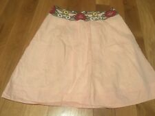 Snak Anthropologie Vintage Skirt Polka dot Floral Women's 2 XS (B03)