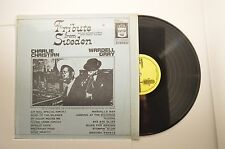 charlie christian/ wardell gray lp tribute from sweden    m-/m-