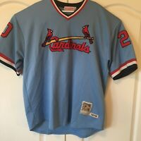 Mitchell & Ness Cooperstown Collection St. Louis Cardinals Lou Brock Jersey