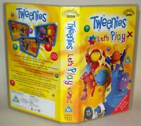 Tweenies - Let's Play - CBeebies - Vhs Tape & Case. Cert Uc. Collectable VHS
