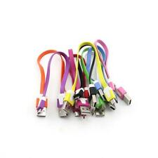 kurz Flach USB Sync USB Kabel Ladekabel Datenkabel Netzteil for Samsung htc Sony