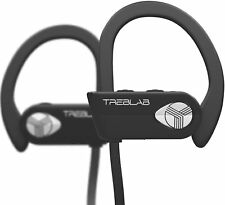 TREBLAB XR500 Waterproof Wireless Bluetooth Headphones Noise Cancelling Earbuds