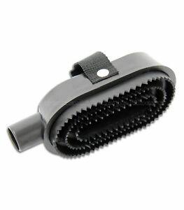 striglia aspirapolvere per cavalli - vacuum cleaner curry comb for horses
