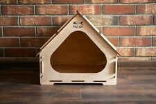 House for pets, wooden house for pets, handmade for pets