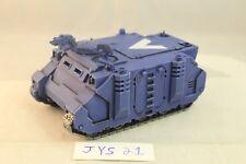 Warhammer Space Marine Ultramarines Rhino Pro Painted
