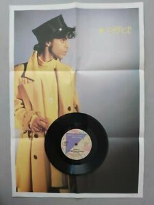 """PRINCE IF I WAS YOUR GIRLFRIEND LIMITED EDITION UK POSTER BAG 7"""" vinyl"""