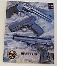 NOS VINTAGE SMITH & WESSON HANDGUN CATALOG ADVERTISING HUNTING GUNS SHOOTING