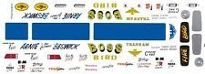 Arnie Beswick BOSS BIRD 1/43rd Scale Slot Car Waterslide Decals
