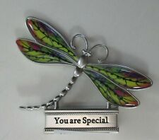 zzF You are special Live With Joy Dragonfly Figurine miniature Ganz