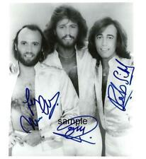 BEE GEES BAND REPRINT 8X10 PHOTO SIGNED AUTOGRAPHED MAN CAVE BARRY ROBIN GIBB