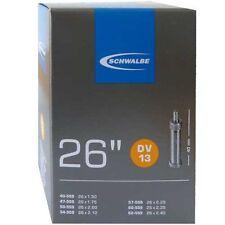 SCHWALBE Chambre à air vélo DV 13 pour 26 pouces (40-62/559) avec norme soupape