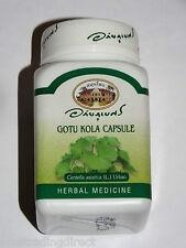 Gotu Kola Capsules Centella Asiatica   1 Bottle 400mg Abhaibhubejr