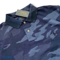 Polo Golf Ralph Lauren RLX Camouflaged Camo Polo Shirt Slimfit Size Large L