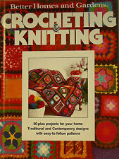 Better Homes and Gardens ~ Crocheting and Knitting Book