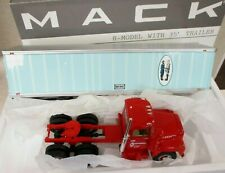 FIRST GEAR MASON DIXON MACK R MODEL w/35' TRAILER 1/34 19-2818 NIB**