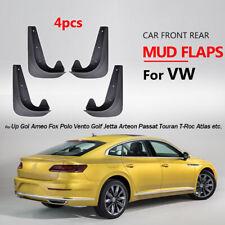 4pcs Universal Mud Flaps For Volkswagen VW Splash Guards Mudflaps Mudguards