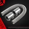 """24""""Radiator Hose Kit Stainless Steel for Car Cooling Water Pipe Engine Universal"""