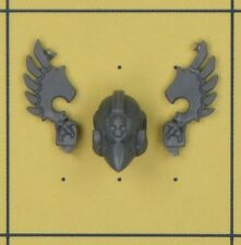 WARHAMMER 40K SPACE MARINE Dark Angels Ravenwing Comando Squadra CHAMPION CASCO