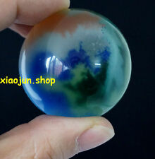 Crystal Ball Sphere 40Mm + Stand Hot Sell Asian Quartz Colorful Cat Eye