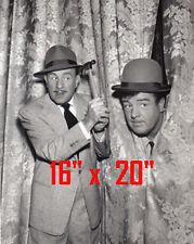"""Abbott & Costello~TV Show~Poster~Photo~16"""" x  20"""""""