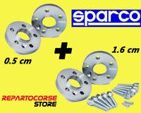 DISTANZIALI SPARCO 5 + 16mm BMW serie E87 E46 E90 E60 - E81 E82 E36 E91 E61 E31