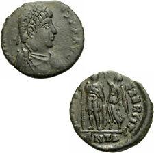 Arcadius aes III Antioquía 395-401 virtvs exerciti victoria emperador Ric 70/4