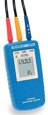 PeakTech 2530 3-Phasen-Drehrichtungsanzeiger/3-Phase Rotation Tester