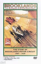 Brooklands Circuit - Birthplace of British Motorsport DVD 1907-39 *NEW