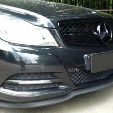 Universal Front Bumper Lip Splitter Chin Spoiler Body Kit Wing MERCEDES BENZ