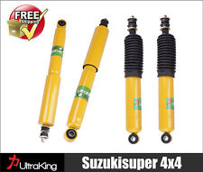 4 Front + Rear HD Gas Shock Absorbers Pajero NH NJ NK NL Mitsubushi 91-2000 4x4