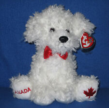 TY ICE SKATES the DOG BEANIE BUDDY - MINT with MINT TAGS -  (CANADA EXCLUSIVE)