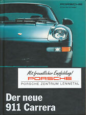 0025PO Porsche 911 Prospekt 1993 8/93 deutsche Ausgabe brochure broszura Katalog