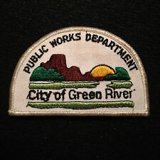 City Of Green River Public Works Department Patch / LAPD Police Sheriff