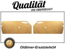 2 Pappen Türpappen Rohlinge für Mercedes R107 Türverkleidungen