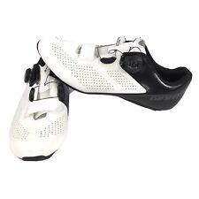 Giant Surge Elite MES Road Bike White Black Thermoset Carbon Boa Lace Shoes 10