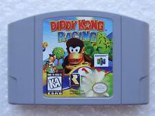 Diddy Kong Racing Nintendo 64 N64 OEM Authentic Video Game Cart Retro Kids GREAT