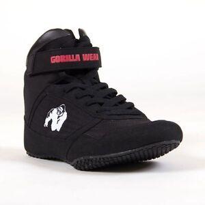 Gorilla Wear High Tops Black - Bodybuilding und Fitness Schuhe