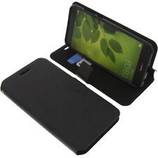 Borsa per Huawei Nova 2 Plus Book-Style guscio protettivo Libro Custodia Cellulare Nero