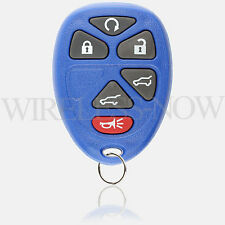 Car Key Fob Keyless Entry Remote 6Btn Navy For 2012 2013 2014 Chevrolet Tahoe