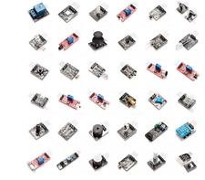 Lot de 37 capteurs et périphériques pour prototypage électronique (Arduino, Rasp