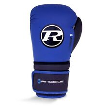 Ringside Workout Series Boxing Gloves Blue Kick Sparring Muay Thai Mitts Bag